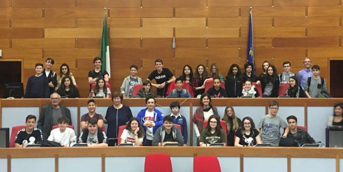 L'IC Berti di Prignano porta la memoria di Franco Cesana in Regione