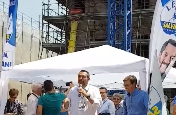 """San Felice, Pd """"Il """"civico"""" Goldoni come primo atto sul palco con Salvini"""""""