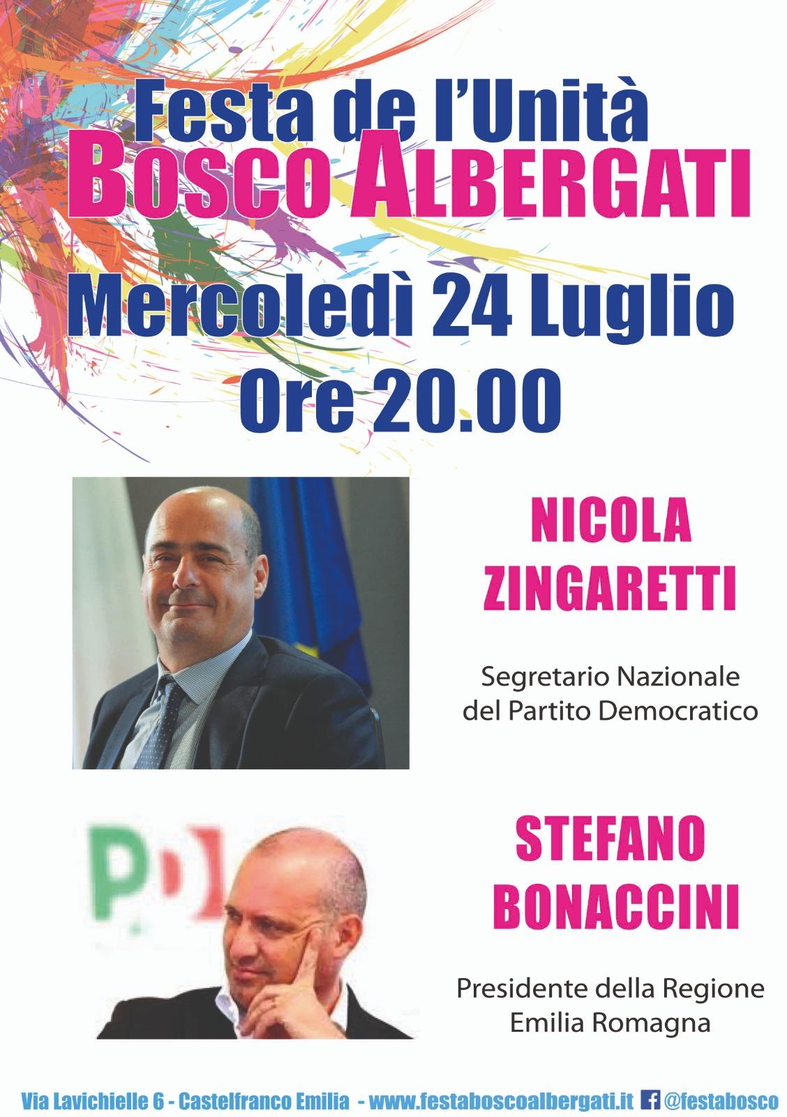 Bosco Albergati, 24 luglio