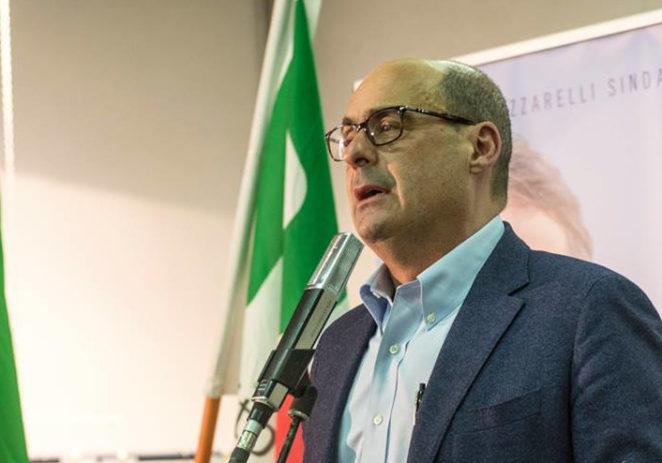 Il segretario Nicola Zingaretti venerdì 3 luglio alla Festa della città