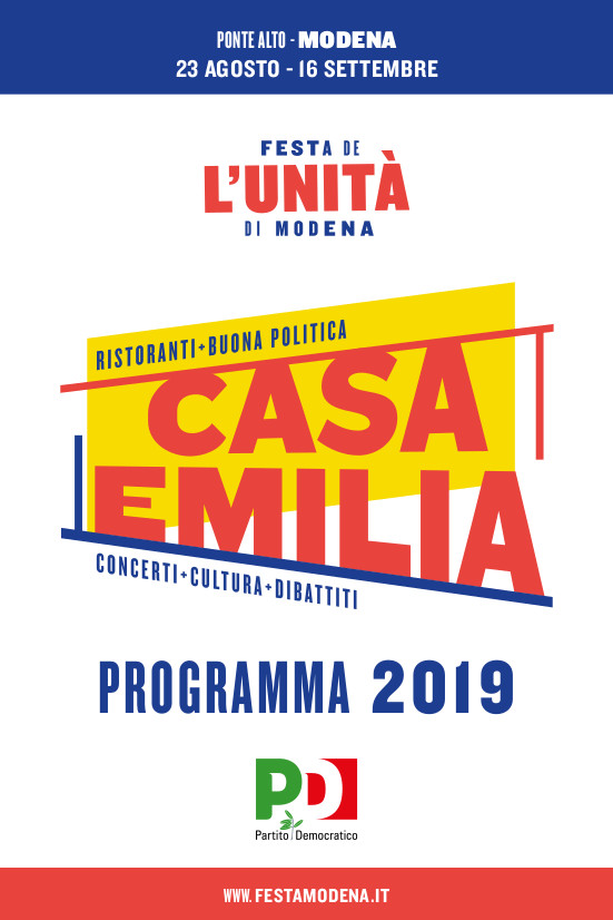 FESTA DE L'UNITA' – PONTE ALTO – 2019