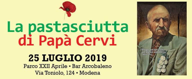 """Pd Modena """"Giovedì partecipiamo alla pastasciutta di papà Cervi"""""""