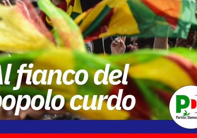 """Fava """"Il Pd modenese aderisce al presidio a sostegno dei curdi"""""""