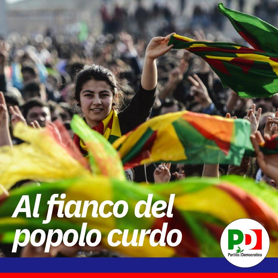Sostegno al popolo curdo