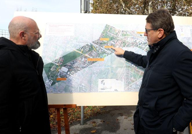 """Diagonale verde, Fanti """"Intervento utile al Quartiere e alla città"""""""