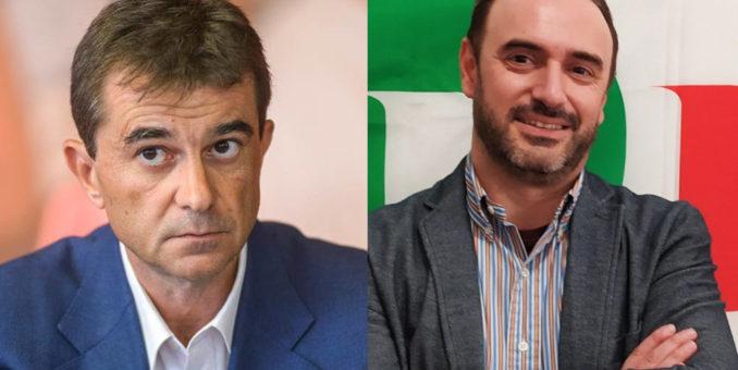 """Mirandola, Silvestri e Azzolini """"Siamo teatro di rigurgiti fascisti"""""""