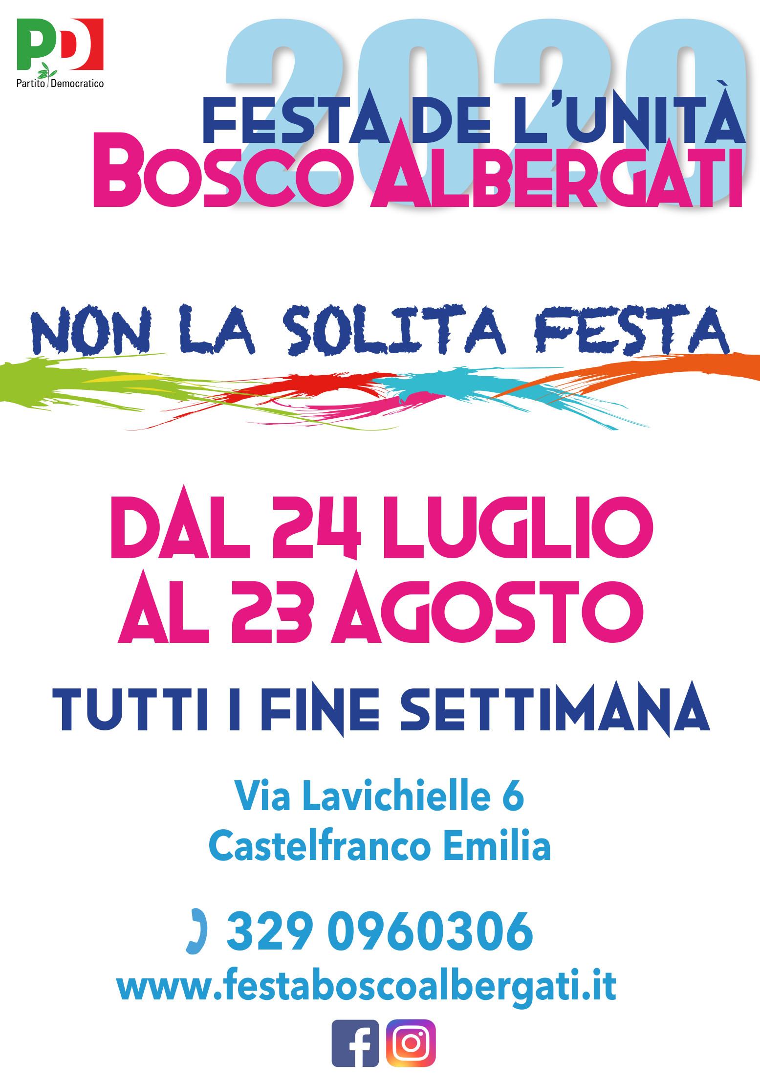 La Festa de l'Unità di Bosco Albergati