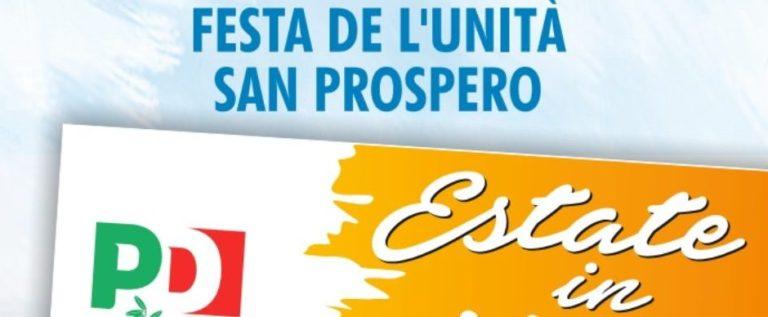 San Prospero, dal 31 luglio al 10 agosto torna la Festa de l'Unità