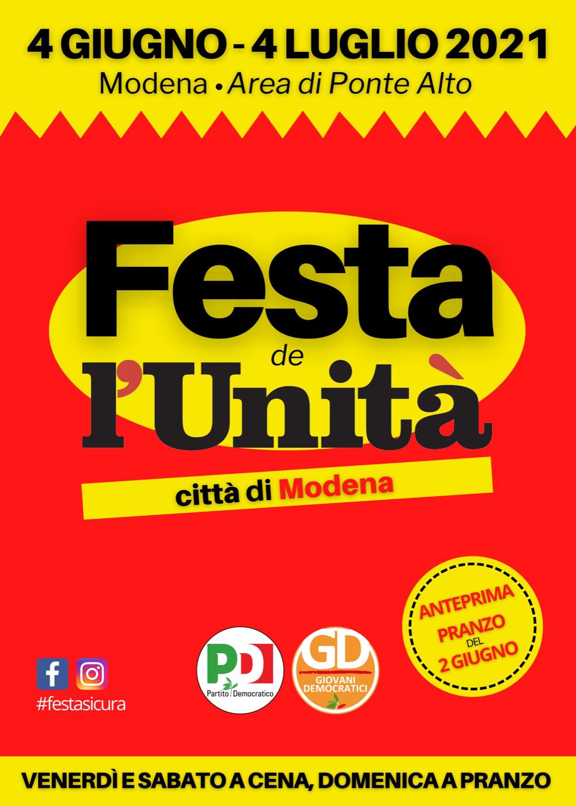 Festa de l'Unità città di Modena