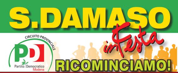 Al via venerdì 18 giugno la Festa de l'Unità di San Damaso