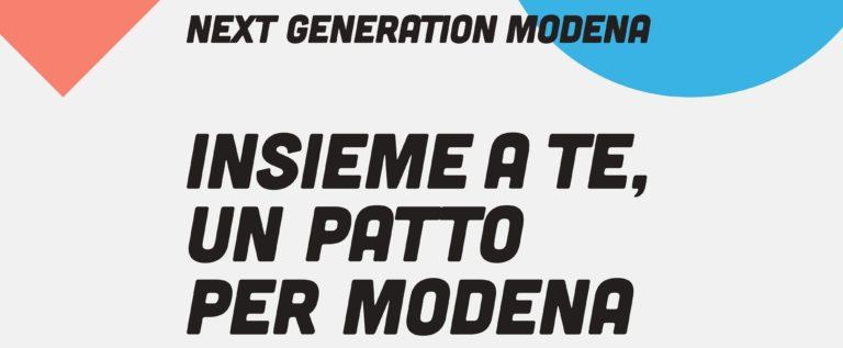Il Pd cittadino scende in campo per il Next Generation Modena