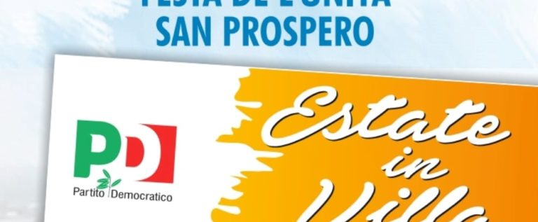 San Prospero, dal 30 luglio al 9 agosto torna la Festa de l'Unità