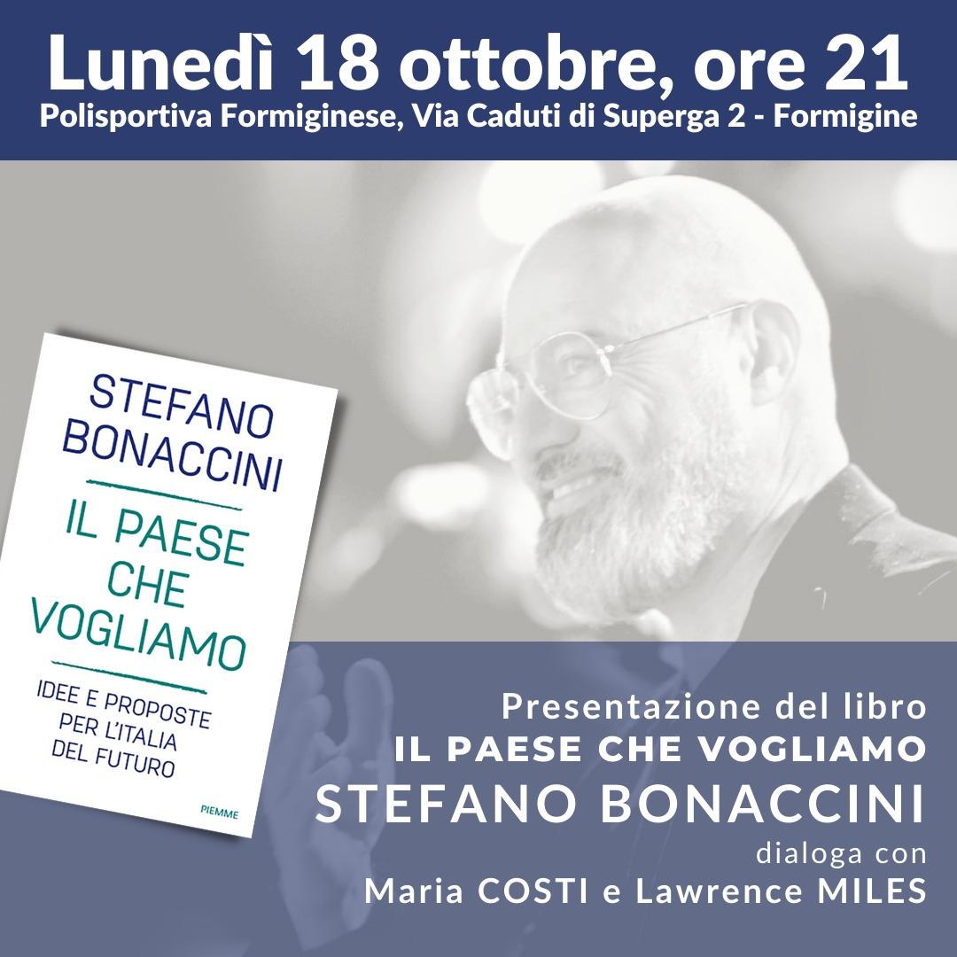 Stefano Bonaccini a Formigine